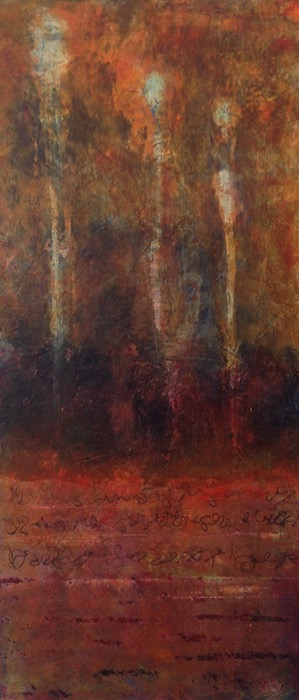 Three Spirits |10x20| Oil on Panel